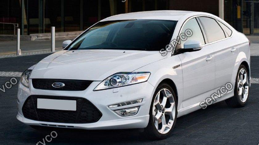 Prelungire lip buza tuning sport bara fata Ford Mondeo Mk4 2011-2014 FL 2011-2014 v2