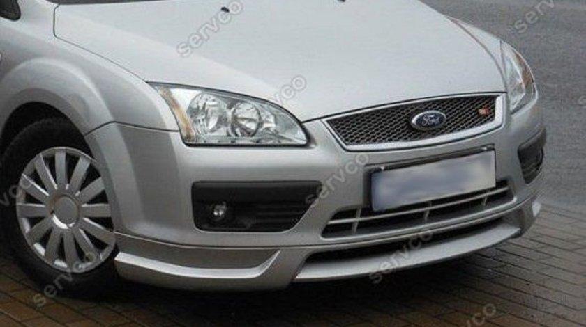 Prelungire lip buza tuning sport bara fata Ford Focus 2 MK2 2004-2008 v1