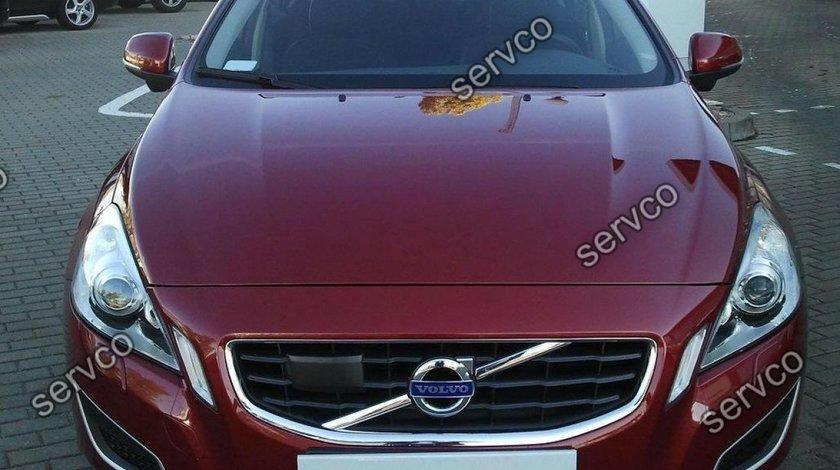 Prelungire lip buza tuning sport bara fata Volvo S60 R design 2010-2014 v1