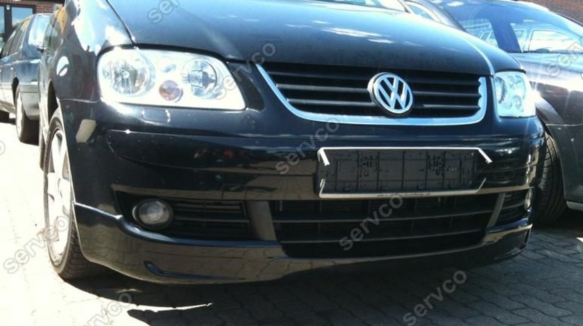 Prelungire lip buza tuning sport bara fata VW Caddy 2003-2011 v2