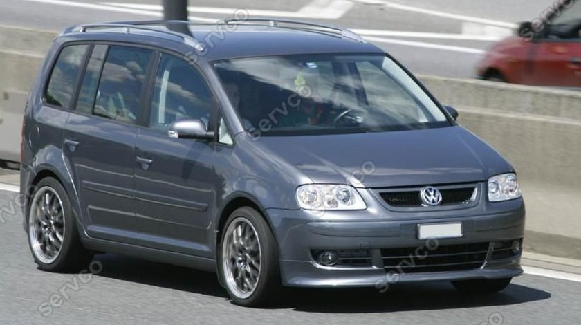 Prelungire lip buza tuning sport bara fata VW Caddy 2003-2011 v1