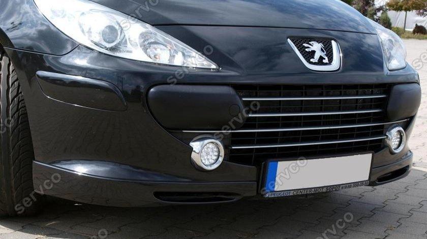 Prelungire lip buza tuning sport bara fata Peugeot 307 2005-2007 v1