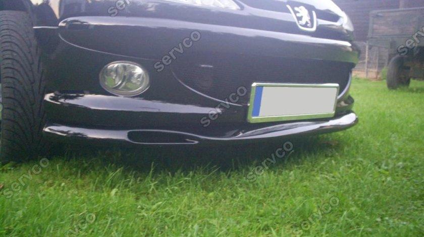 Prelungire lip buza tuning sport bara fata Peugeot 206 Gti 1998-2010 v1