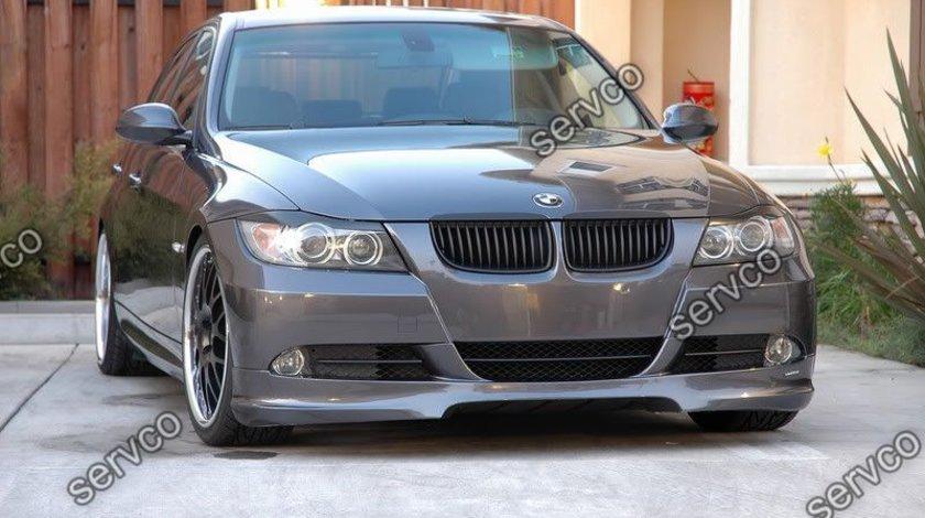 Prelungire lip difuzor spoiler fusta tuning sport bara fata BMW E90 E91 Hartge ver5