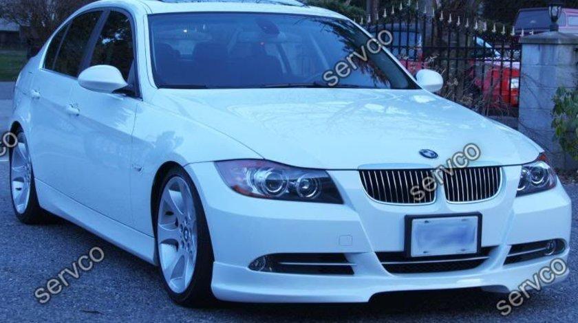 Prelungire lip difuzor spoiler tuning sport bara fata BMW E90 E91 Hartge ver5