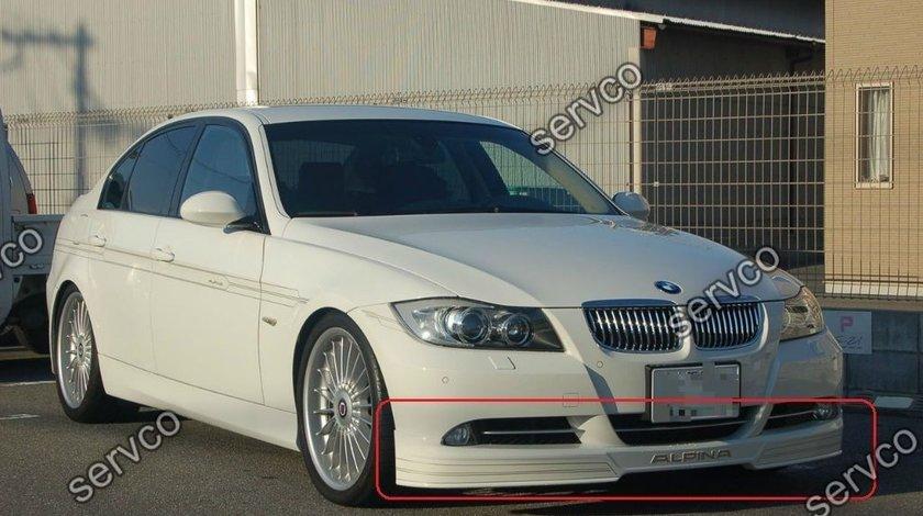 Prelungire lip fusta adaos spoiler bara fata BMW E90 E91 B5 Alpina ver1