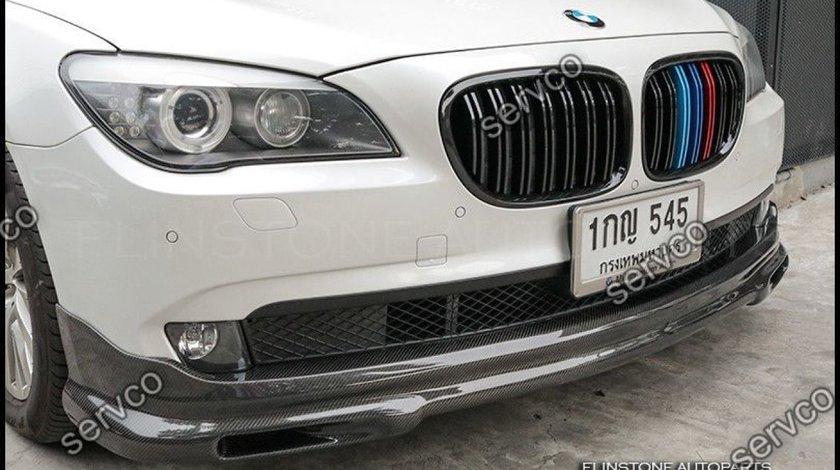 Prelungire lip spoiler bara fata BMW Seria 7 F01 F02 ACS AC SCHNITZER 2008-2012 v2