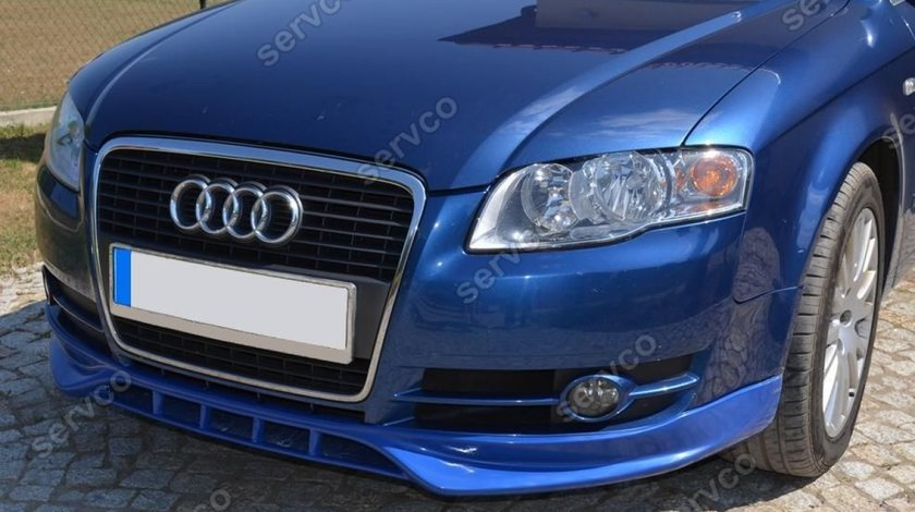 Prelungire ornament difuzor spoiler bara fata Audi A4 B7 8E 8H S4 Rs4 S line v2