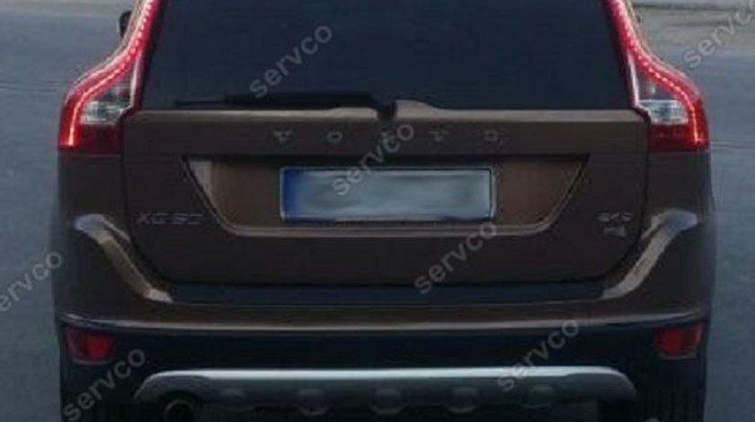 Prelungire ornament difuzor tuning sport bara spate Volvo XC60 2008-2014 v1