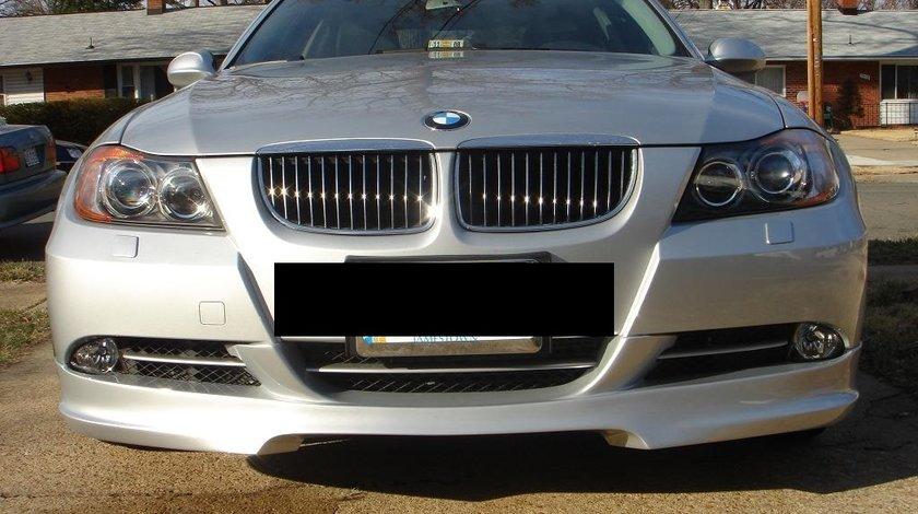 Prelungire ornament lip buza tuning sport bara fata BMW E90 E91 Hartge 2005-2009 v5