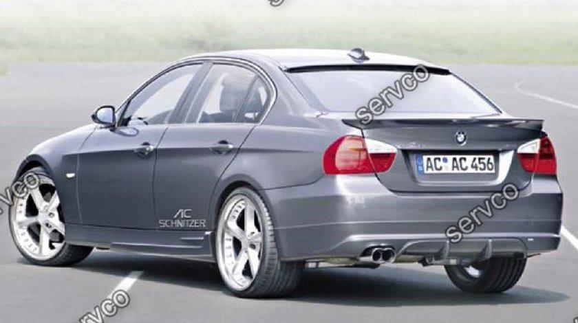 Prelungire prelungiri flapsuri splittere tuning sport bara spate BMW E90 ACS AC SCHNITZER 05-08 v3