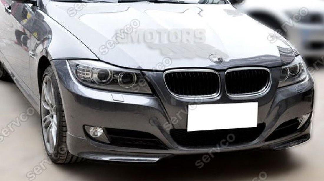 Prelungire prelungiri flapsuri splittere tuning sport bara fata BMW E90 E91 LCI 2009-2012 v6