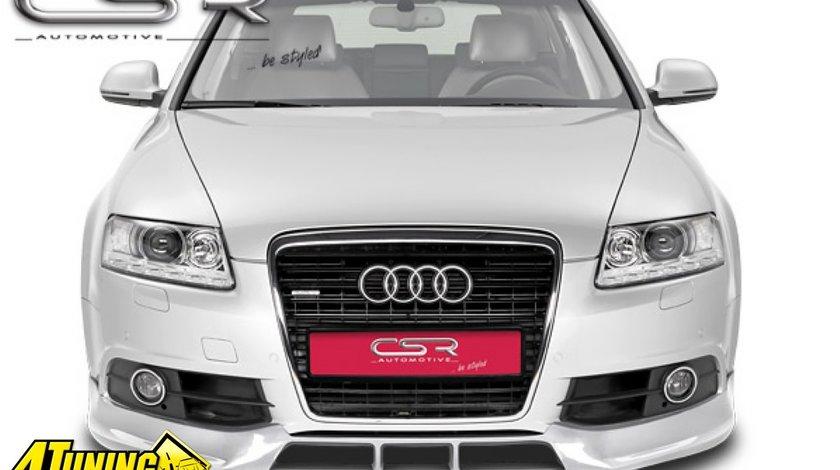 Prelungire Prelungiri Spoiler Sub Bara Fata Audi A6 4F facelift S line 2008 2011 FA168