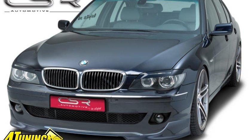 Prelungire Prelungiri Spoiler Sub Bara Fata BMW E65 LCI E66 LCI facelift Seria 7 2005 2008 FA166