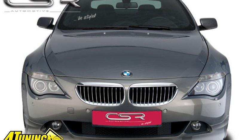 Prelungire Prelungiri Spoiler Sub Bara Fata BMW Seria 6 E63 2003 2007 FA032