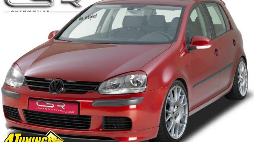 Prelungire Prelungiri Spoiler Sub Bara Fata VW Golf 5 Typ 1K 2003 2008 FA135