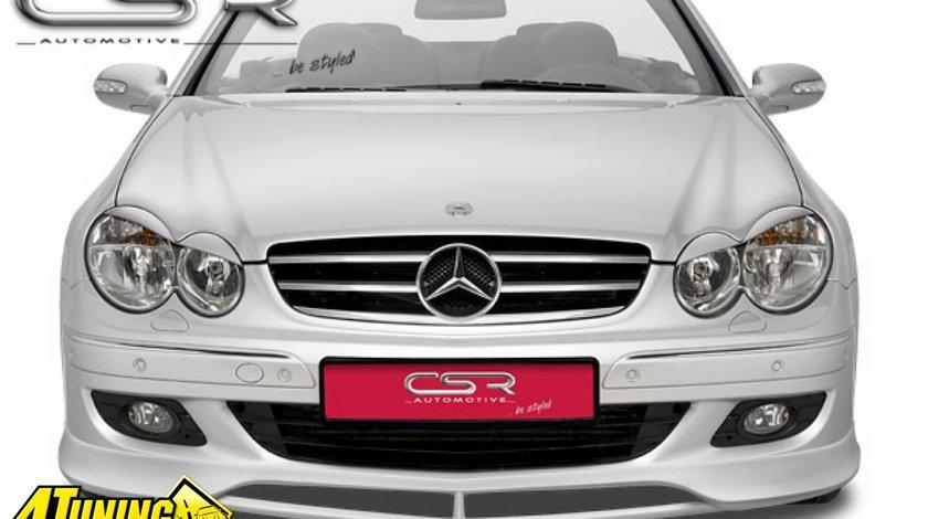 Prelungire Prelungiri Spoiler Sub Bara Fata Mercedes Benz CLK W209 C209 A209 2005 2010 FA210