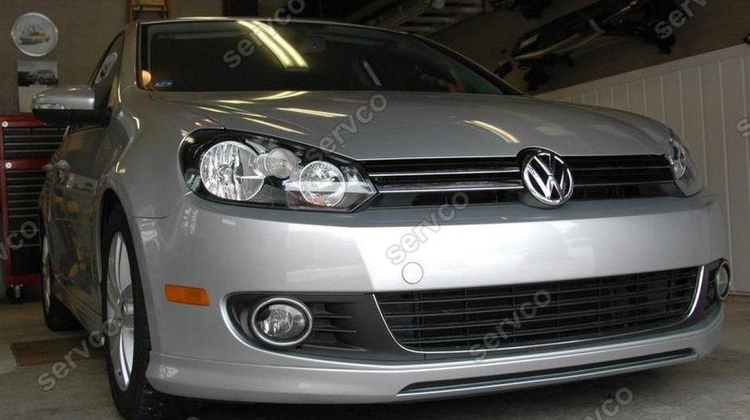 Prelungire Rline lip buza tuning sport bara fata VW Golf 6 GTI R20 2008-2013 v1
