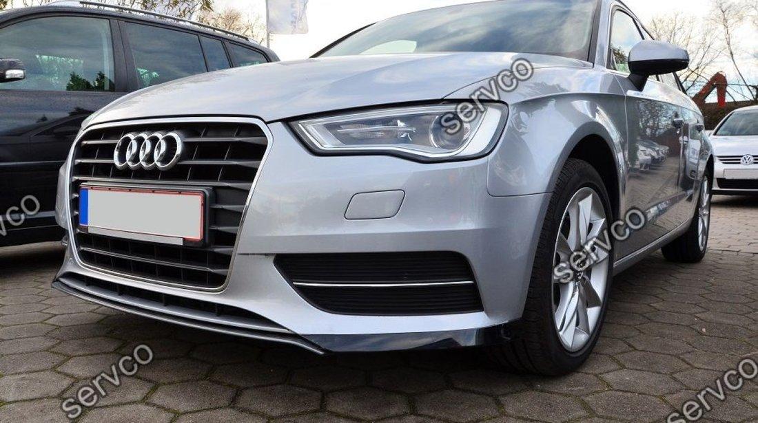 Prelungire S-Line bara fata Audi A3 8V Coupe Sportback 2012-2016 v1