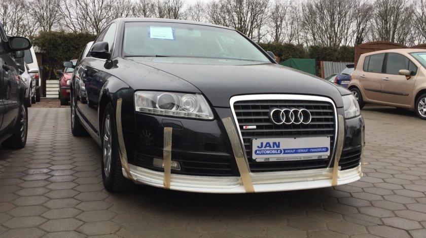 Prelungire S-Line bara fata Audi A6 C6 4F Facelift 2009-2011 v1
