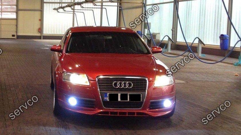 Prelungire S line tuning sport bara fata Audi A6 C6 4F S6 RS6 v1