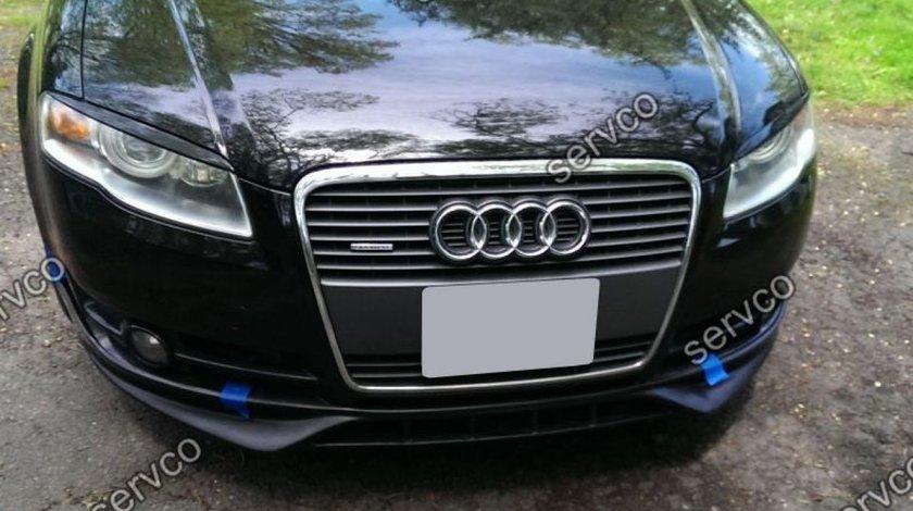 Prelungire Sline adaos fusta tuning sport bara fata Audi A4 B7 8E 8H S4 Rs4 2005-2007 v2