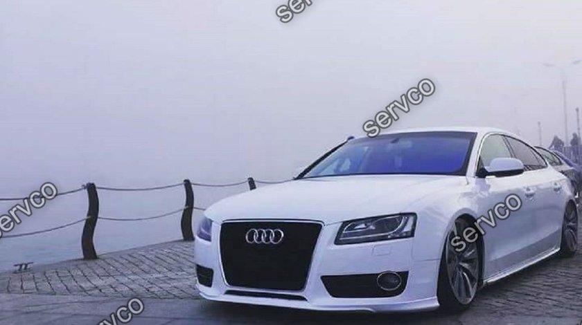 Prelungire Sline bara fata Audi A5 Coupe Cabrio Sportback S5 RS5 Votex 2007-2012 v2