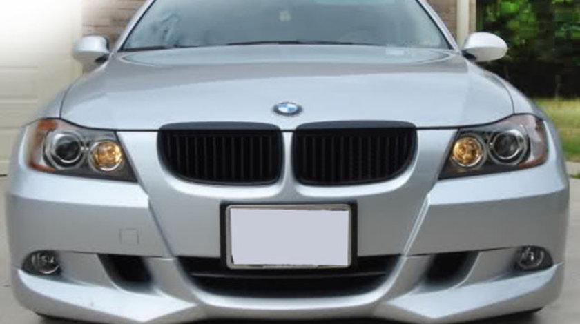 Prelungire spliter lip fusta bara fata BMW E90 E91 ACS AC SCHNITZER 2005 2006 2007 2008 v7