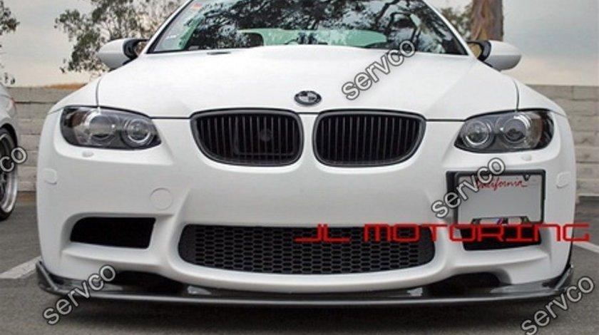 Prelungire spliter spoiler lip bara fata BMW M3 E90 E91 E92 E93 E9X Hamann ver8