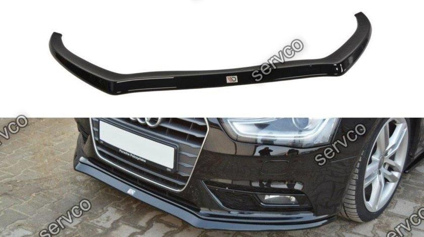 Prelungire splitter bara fata Audi A4 B8 Facelift 2011-2015 v2