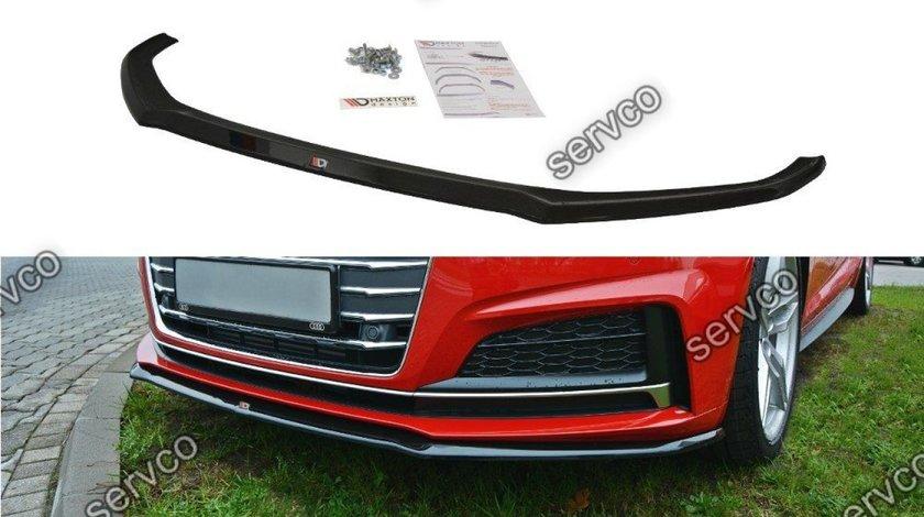 Prelungire splitter bara fata Audi A5 F5 S-Line 2016-2019 v2