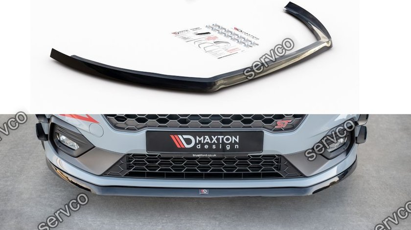 Prelungire splitter bara fata Ford Fiesta Mk8 ST 2018- v21