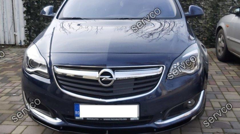 Prelungire splitter bara fata Opel Insignia MK1 Facelift 2013- v1