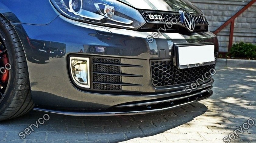 Prelungire splitter bara fata Volkswagen Golf 6 GTI 2008-2012 v5
