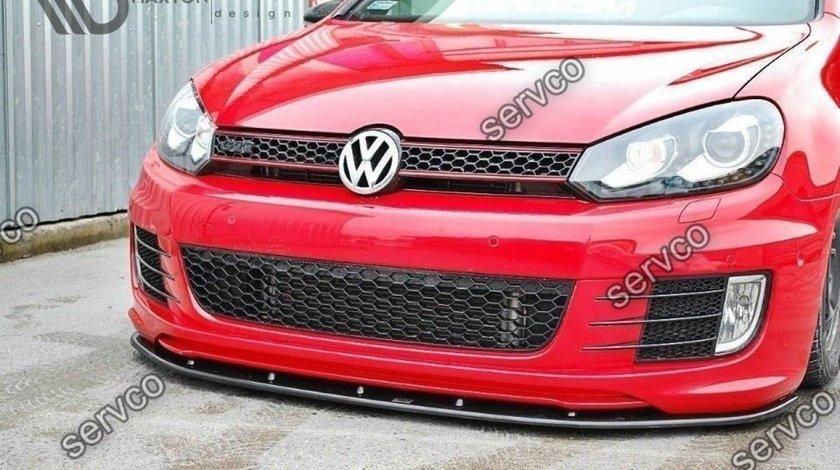 Prelungire splitter bara fata Volkswagen Golf 6 GTI 35TH 2008-2012 v6
