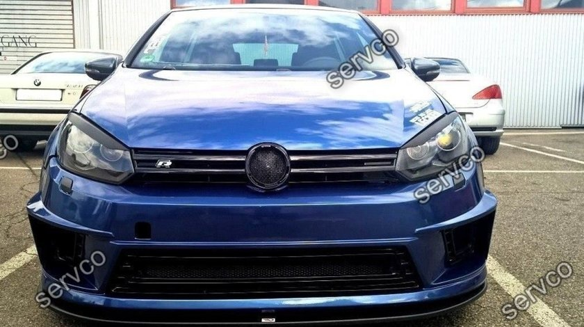 Prelungire splitter bara fata Volkswagen Golf 6 R400 2008-2012 v1