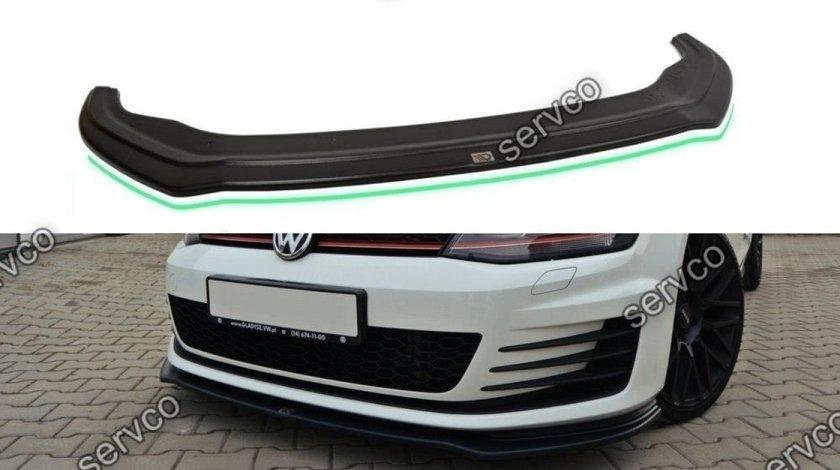 Prelungire splitter bara fata Volkswagen Golf 7 GTI 2012-2017 v5