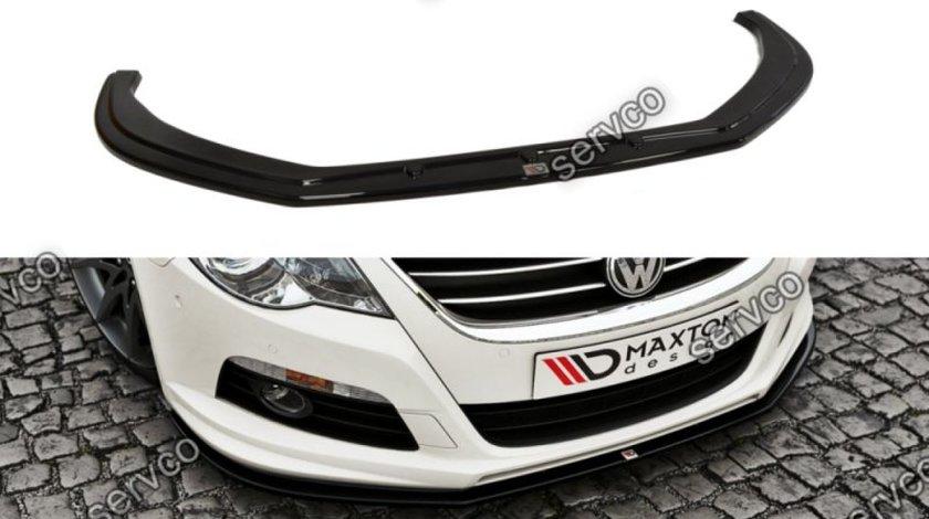 Prelungire splitter bara fata Volkswagen Passat CC R36 RLINE 2008-2012 v2