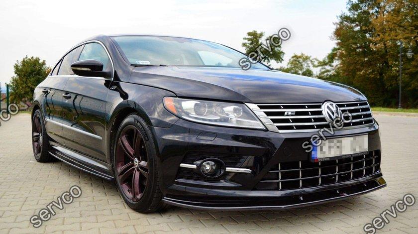 Prelungire splitter bara fata Volkswagen Passat CC R-Line 2012-2017 v3