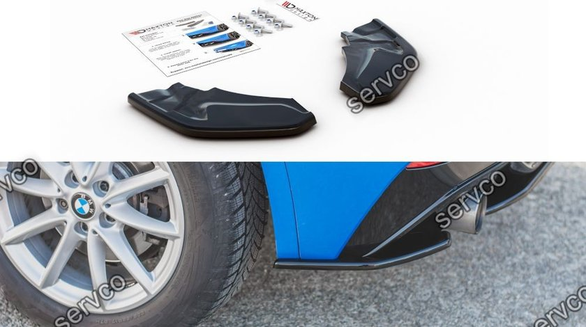 Prelungire splitter bara spate BMW X2 F39 M-Pack 2017- v2