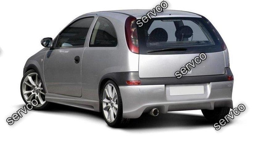 Prelungire splitter bara spate Opel Corsa C 2000-2003 v5