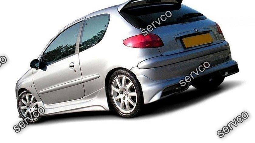 Prelungire splitter bara spate Peugeot 206 HB GTI S16 CC 1999-2009 v1