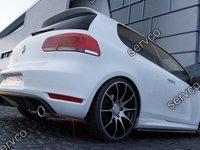 Prelungire splitter bara spate Volkswagen Golf 6 GTI 35TH 2008-2012 v6