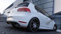 Prelungire splitter bara spate Volkswagen Golf 6 G...