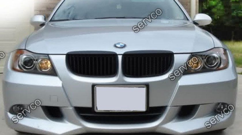 Prelungire splitter lip bara fata BMW E90 E91 ACS AC SCHNITZER 2005-2008 v7