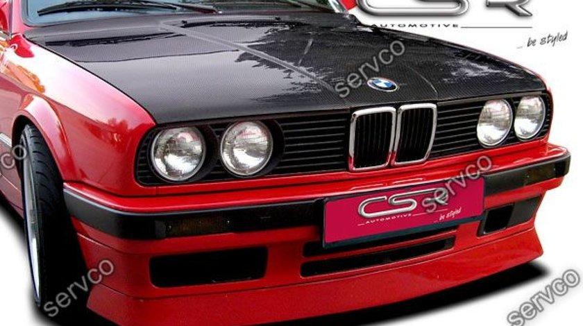 Prelungire splitter lip sport bara fata BMW Seria 3 E30 CSR FA004 1987-1991 v2