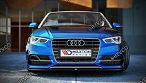 Prelungire splitter tuning bara fata Audi A3 8V Sl...