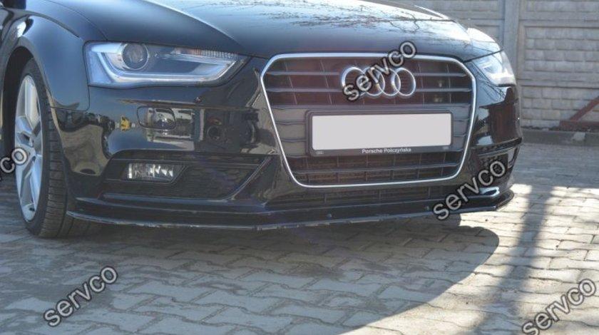 Prelungire splitter tuning bara fata Audi A4 B8 2012-2015 v4