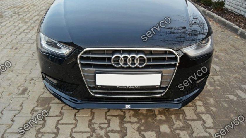 Prelungire splitter tuning bara fata Audi A4 B8 2012-2015 v5