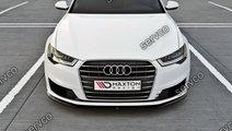 Prelungire splitter tuning bara fata Audi A6 C7 Ul...